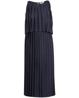 Narcissus Jersey Pleated Womens Dress