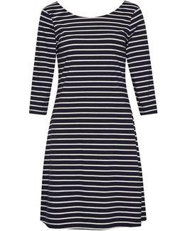 Sunday Stripe Jersey Smock Womens Dress