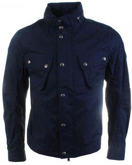 London Coated Cotton Velo Short Mens Jacket
