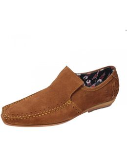 Loafer Mens Suede Shoe