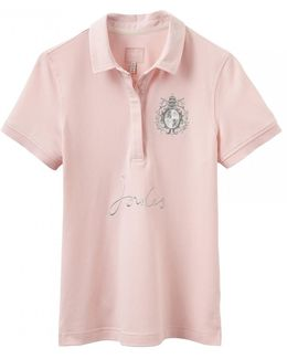 Amity Embroidered Womens Polo Shirt (x)