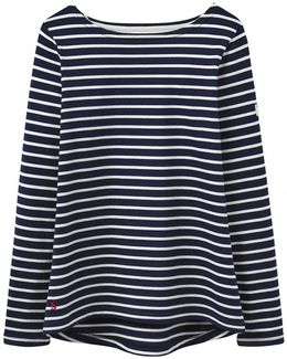 Harbour Stripe Long Sleeve Jersey Top