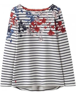 Harbour Print Womens Jersey Top (x)