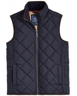 Bradwell Sherpa Lined Quilted Gilet (x)