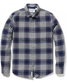 Brushed Flannel Check Mens Shirt