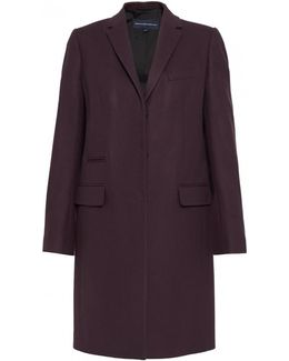 Platform Felt Smart Fit Womens Coat