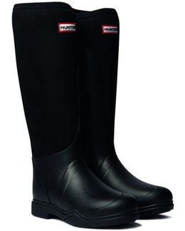 Balmoral Ladies Equestrian Neoprene Stretch Ladies Wellington Boot