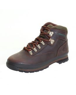 Euro Hiker Mens Mid Leather Boot