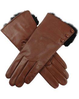 Sophie Hairsheep Ladies Leather Glove