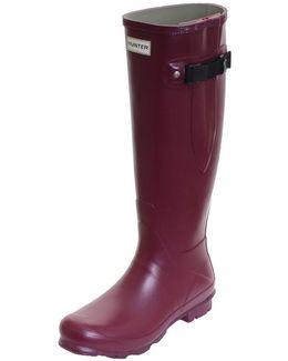 Field Norris Side Adjustable Ladies Wellington Boot