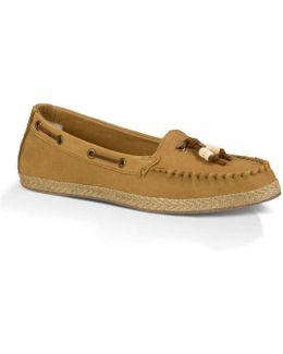 Suzette Ladies Moccasin Shoe