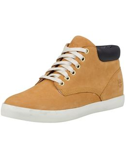 Flannery Ladies Chukka Boot With Collar