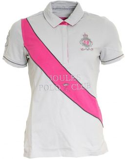 Liberty Embroided Ladies Polo Shirt (v)
