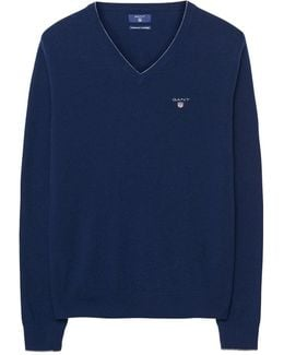 Wool Cashmere Tipped Mens