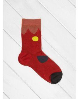 Blooming Crew Socks