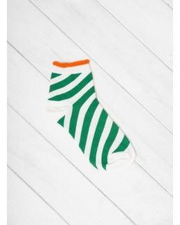 Candy Stripe Anklet Socks
