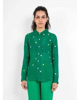 Egberta Wool Chiffon Shirt
