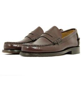 Penny Loafer Burgundy Shoe 026220Bur