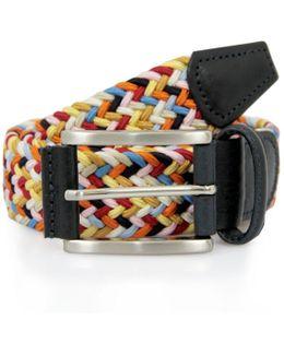 Anderson Belts Leather Textile Multicolor M6