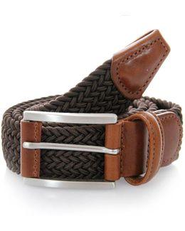 Elasticated Woven Textile Belt