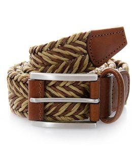 Braided Twine Belt