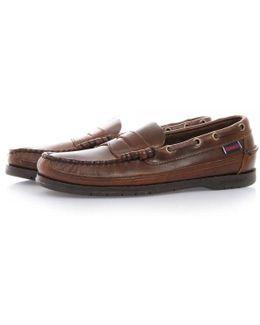 Sloop Brown Loafer Shoe