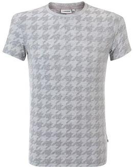 Drape Jacquard Light Grey T-Shirt 53Mc56047