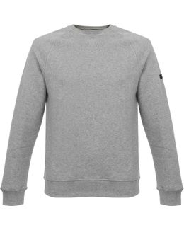 Clutch Grey Fleece Sweatshirt