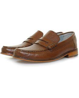 Ashley Dark Brown Loafer Shoe 111061