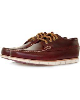 Tidelands Ranger Moc Redwood Leather Shoe