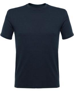 Silo Wave Mid Blue T-shirt