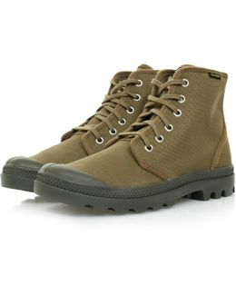Pampa Hi Originale Butternut Canvas Boot