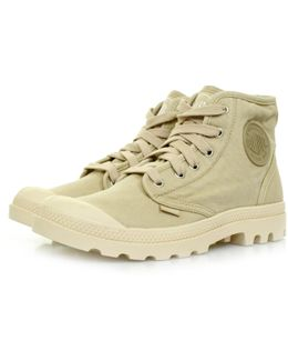 Pampa Hi Desert Ecru Canvas Hi Boot