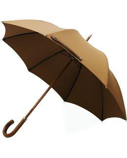 Leather City Lux Khaki Umbrella