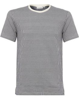 Jack Jacquard Striped T-Shirt