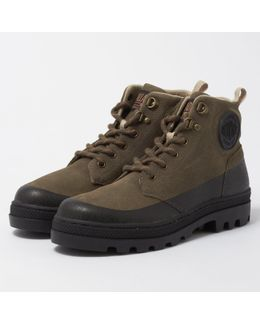 Major Brown & Black Pallabosse Hikr Boot