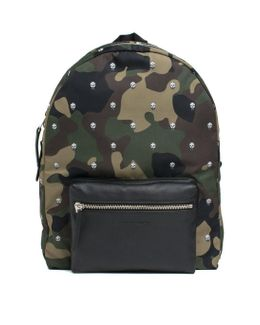 Camouflage 'skull' Backpack