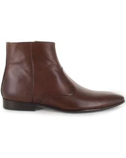 Brussels Side Zip Ankle Boot