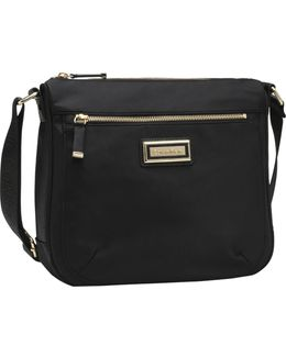 Nylon Messenger Crossbody