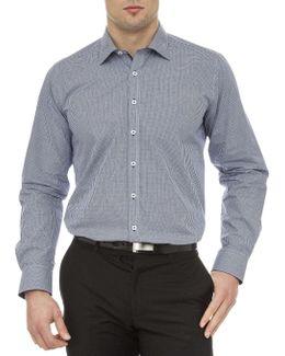 Argyle Dobby Slim Fit Shirt