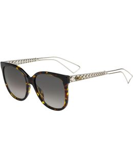 Diorama3 Cat-eye Sunglasses