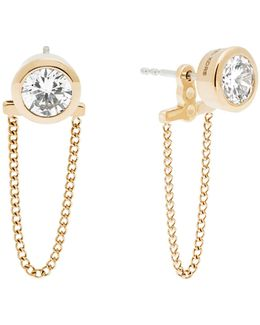 Brilliance Gold Earring