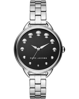 Marc Jacobs Betty Silver Watch