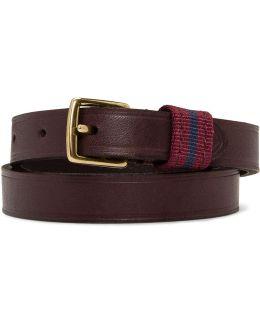 Bridle Leather Double Wrap Bracelet
