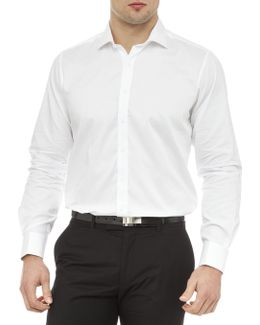 Armstrong Semi Solid Slim Fit Shirt