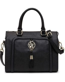 Aj Zip Top Tassel Trim Ns Tote