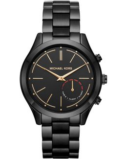 Slim Runway Black Ip Hybrid Smartwatch
