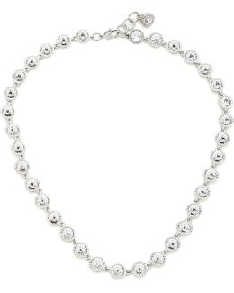 Rosele: Rivoli Crystal Single Row Necklace