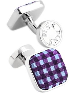 Warren Check Cufflink