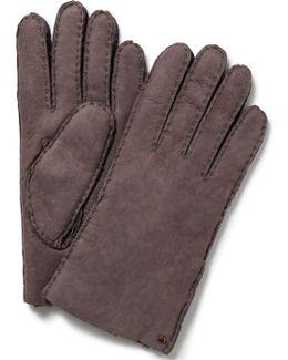 Short Shearling Gloves